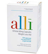 Alli over the counter diet pills UK