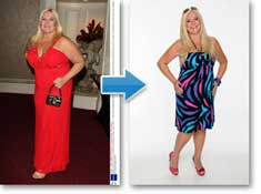 Vanessa Feltz Lost weight with Appesat